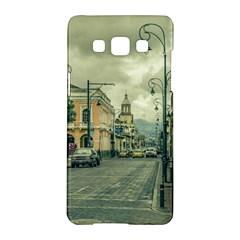 Historic Center Urban Scene At Riobamba City, Ecuador Samsung Galaxy A5 Hardshell Case