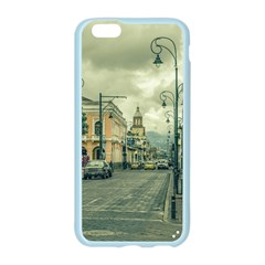 Historic Center Urban Scene At Riobamba City, Ecuador Apple Seamless iPhone 6/6S Case (Color)