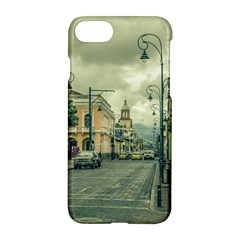 Historic Center Urban Scene At Riobamba City, Ecuador Apple Iphone 7 Hardshell Case