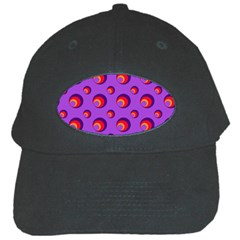 Scatter Shapes Large Circle Red Orange Yellow Circles Bright Black Cap