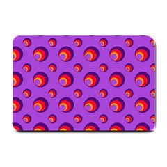Scatter Shapes Large Circle Red Orange Yellow Circles Bright Small Doormat