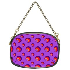 Scatter Shapes Large Circle Red Orange Yellow Circles Bright Chain Purses (One Side)