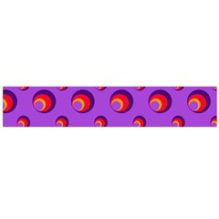 Scatter Shapes Large Circle Red Orange Yellow Circles Bright Flano Scarf (large)