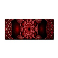 Lines Circles Red Shadow Cosmetic Storage Cases