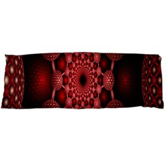 Lines Circles Red Shadow Body Pillow Case Dakimakura (Two Sides)