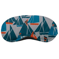 Ship Sea Blue Sleeping Masks