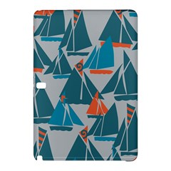 Ship Sea Blue Samsung Galaxy Tab Pro 10.1 Hardshell Case