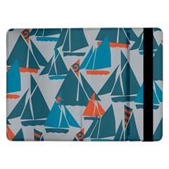 Ship Sea Blue Samsung Galaxy Tab Pro 12.2  Flip Case