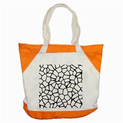 Seamless Cobblestone Texture Specular Opengameart Black White Accent Tote Bag