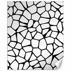 Seamless Cobblestone Texture Specular Opengameart Black White Canvas 16  x 20