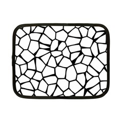 Seamless Cobblestone Texture Specular Opengameart Black White Netbook Case (Small)