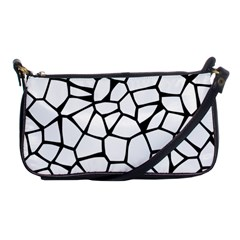Seamless Cobblestone Texture Specular Opengameart Black White Shoulder Clutch Bags