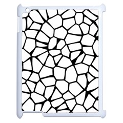 Seamless Cobblestone Texture Specular Opengameart Black White Apple iPad 2 Case (White)
