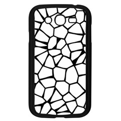 Seamless Cobblestone Texture Specular Opengameart Black White Samsung Galaxy Grand DUOS I9082 Case (Black)