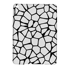 Seamless Cobblestone Texture Specular Opengameart Black White iPad Air 2 Hardshell Cases