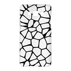 Seamless Cobblestone Texture Specular Opengameart Black White Samsung Galaxy A5 Hardshell Case