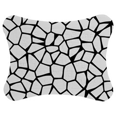Seamless Cobblestone Texture Specular Opengameart Black White Jigsaw Puzzle Photo Stand (Bow)