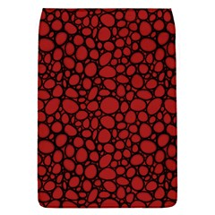 Tile Circles Large Red Stone Flap Covers (L)