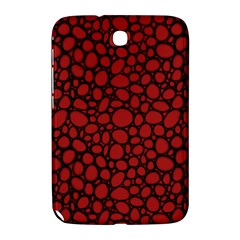 Tile Circles Large Red Stone Samsung Galaxy Note 8.0 N5100 Hardshell Case