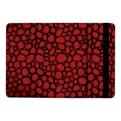 Tile Circles Large Red Stone Samsung Galaxy Tab Pro 10.1  Flip Case