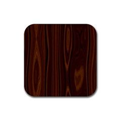 Texture Seamless Wood Brown Rubber Square Coaster (4 pack)