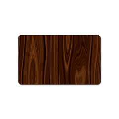 Texture Seamless Wood Brown Magnet (Name Card)