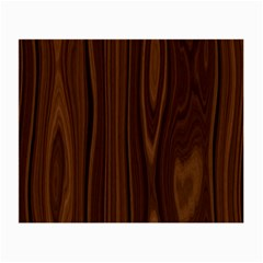 Texture Seamless Wood Brown Small Glasses Cloth (2-Side)