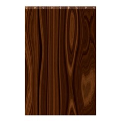 Texture Seamless Wood Brown Shower Curtain 48  x 72  (Small)