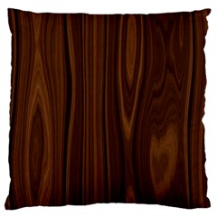 Texture Seamless Wood Brown Large Cushion Case (Two Sides)