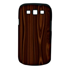 Texture Seamless Wood Brown Samsung Galaxy S Iii Classic Hardshell Case (pc+silicone)
