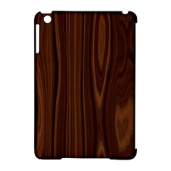 Texture Seamless Wood Brown Apple iPad Mini Hardshell Case (Compatible with Smart Cover)