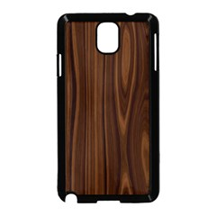 Texture Seamless Wood Brown Samsung Galaxy Note 3 Neo Hardshell Case (Black)