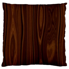 Texture Seamless Wood Brown Large Flano Cushion Case (Two Sides)
