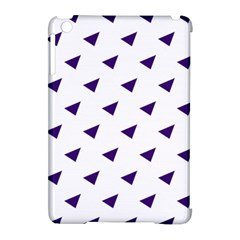 Triangle Purple Blue White Apple iPad Mini Hardshell Case (Compatible with Smart Cover)