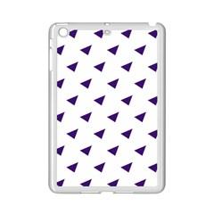 Triangle Purple Blue White iPad Mini 2 Enamel Coated Cases