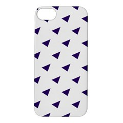 Triangle Purple Blue White Apple iPhone 5S/ SE Hardshell Case