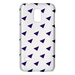 Triangle Purple Blue White Galaxy S5 Mini