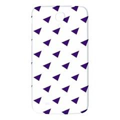 Triangle Purple Blue White Samsung Galaxy Mega I9200 Hardshell Back Case