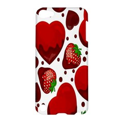 Strawberry Hearts Cocolate Love Valentine Pink Fruit Red Apple iPod Touch 5 Hardshell Case