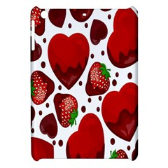 Strawberry Hearts Cocolate Love Valentine Pink Fruit Red Apple Ipad Mini Hardshell Case