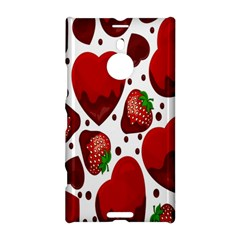 Strawberry Hearts Cocolate Love Valentine Pink Fruit Red Nokia Lumia 1520