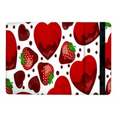 Strawberry Hearts Cocolate Love Valentine Pink Fruit Red Samsung Galaxy Tab Pro 10 1  Flip Case