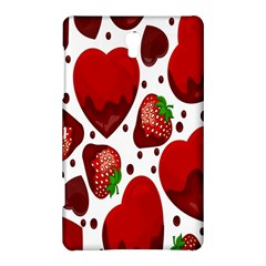 Strawberry Hearts Cocolate Love Valentine Pink Fruit Red Samsung Galaxy Tab S (8.4 ) Hardshell Case