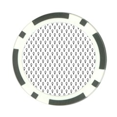 Woman Plus Sign Poker Chip Card Guard (10 pack)