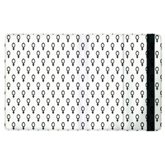 Woman Plus Sign Apple iPad 2 Flip Case