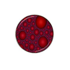 Voronoi Diagram Circle Red Hat Clip Ball Marker
