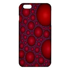 Voronoi Diagram Circle Red iPhone 6 Plus/6S Plus TPU Case