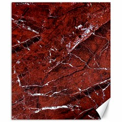 Texture Stone Red Canvas 8  x 10