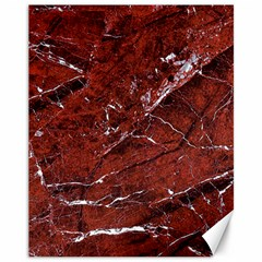 Texture Stone Red Canvas 11  x 14