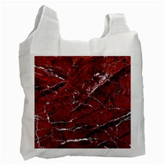 Texture Stone Red Recycle Bag (Two Side)